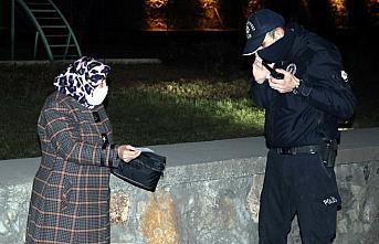 Karabük'te hem karantinayı hem de sokağa çıkma kısıtlamasını ihlal eden kişiye ceza