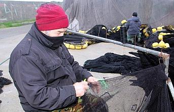 Karadeniz'de balıkçılar ağları