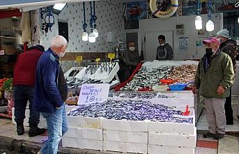 Karadeniz'de hamsi bolluğu tezgahları şenlendirdi