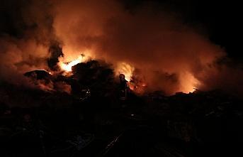 Kastamonu'da 2 ev yandı, 6 büyükbaş hayvan telef...