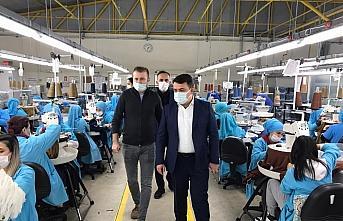 Kaymakam Ömer Saygılı'dan fabrika ziyareti