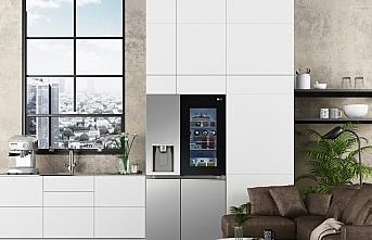 LG'nin Yeni InstaView buzdolapları CES 2021'de...