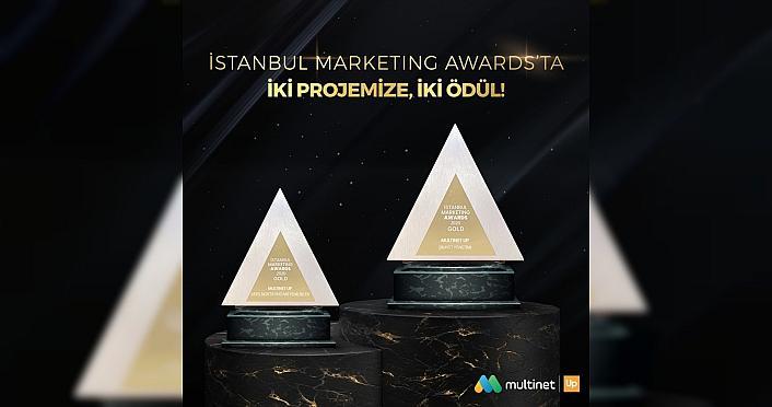 Multinet Up'a İstanbul Marketing Awards'tan iki kategoride...