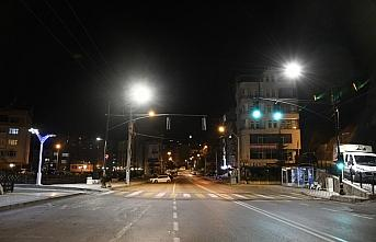 Orta ve Doğu Karadeniz'de sokağa çıkma kısıtlamasında sessizlik hakim oldu