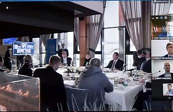 Rusya'daki uluslararası kongrede Trabzon'daki yatırım...