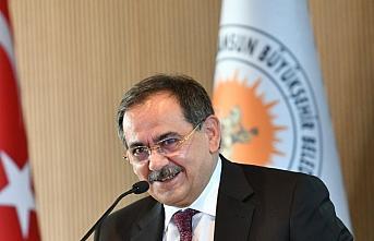 Samsun Büyükşehir Belediye Başkanı Demir'den...