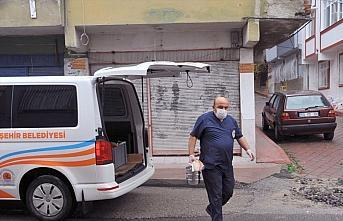 Samsun Büyükşehir Belediyesinden yaşlılara sıcak...