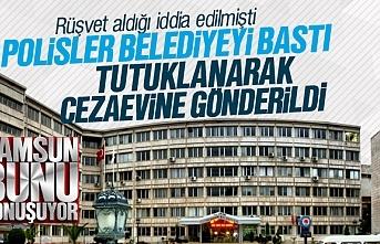 Samsun Büyükşehir Belediyesi'nde rüşvet yolsuzluğunda tutuklama