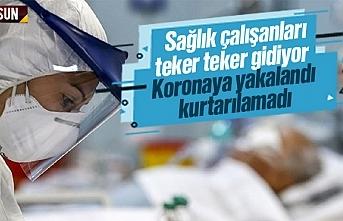 Samsun'da koronavirüse yakalanan sağlık çalışanı...