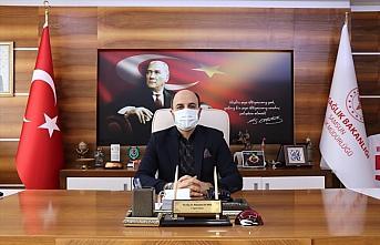 Samsun Sağlık İl Müdürü Oruç'tan yılbaşında...