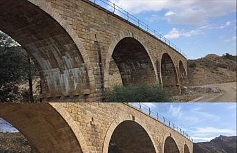 Samsun-Sivas demir yolu hattındaki 48 tarihi köprü...