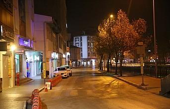 Samsun ve çevre iller sokağa çıkma kısıtlaması nedeniyle sessizliğe büründü