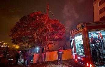 Samsun'da evde çıkan yangın hasara neden oldu