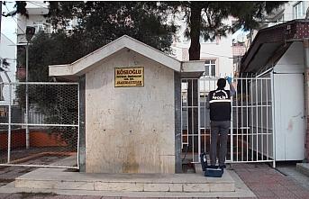 Samsun'da okulun bahçesindeki musluklar çalındı