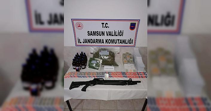 Samsun'da uyuşturucu operasyonlarında 32 kişi yakalandı