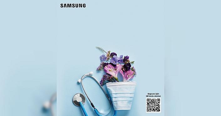 Samsung'dan sağlık çalışanlarına özel beyaz...