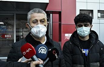 Sİlahlı saldırıda yaralanan Gümüşhanespor Kulübü...