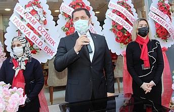Taşova Hünerli Eller Kadın Kooperatifi açıldı