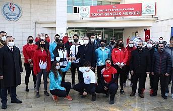 Tokat Valisi Balcı'ya Spor Tokat Projesi dolayısıyla...