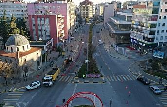Trabzon Ortahisar İçme Suyu Temini Projesi'nde meydan bölgesi çalışmaları başladı