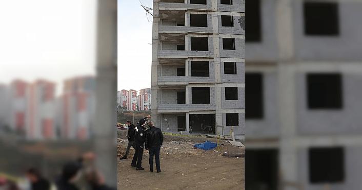 Trabzon'da inşaatın 9'uncu katından düşen işçi...