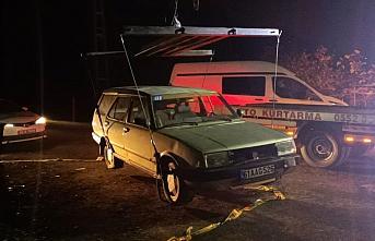 Trabzon'da jandarma ekiplerine otomobille çarparak...