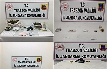 Trabzon'da uyuşturucu operasyonunda 5 kişi gözaltına...