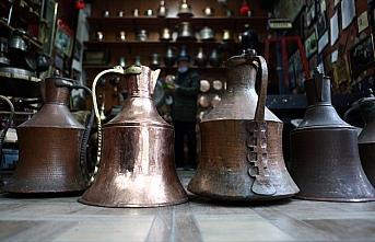 Trabzonlu bakır ustasının