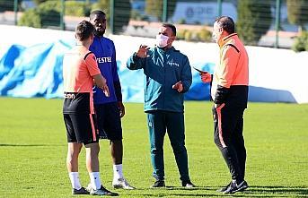 Trabzonspor, Fatih Karagümrük maçı hazırlıklarını sürdürdü