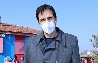 Trabzonsporlu yöneticiden Diyarbakır'daki bordo-mavili...