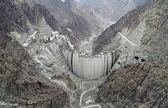 Türkiye'nin en yüksek barajı olacak Yusufeli Barajı'nda...