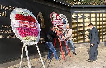 Zonguldak'ta maden şehitleri anıldı