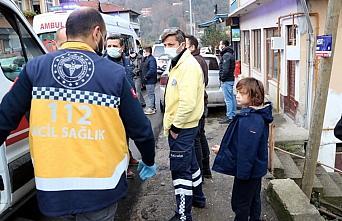 Zonguldak'ta sobadan sızan gazdan etkilenen 5 kişi...