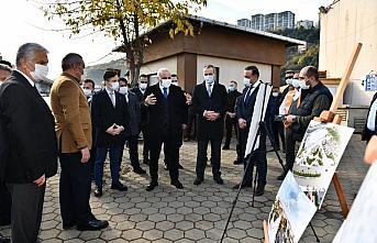 Zorluoğlu, yeni otogar alanında incelemelerde bulundu