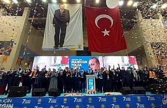AK Parti Genel Başkan Yardımcısı Hamza Dağ, partisinin Amasya il kongresinde konuştu:
