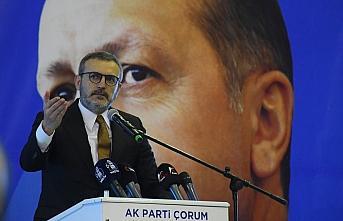 AK Parti Genel Başkan Yardımcısı Mahir Ünal, Çorum'da konuştu:
