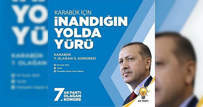 AK Parti Karabük İl Kongresi 19 Ocak'ta yapılacak