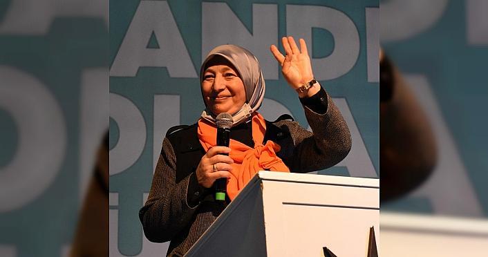 AK Parti Ordu İl Kadın Kolları Başkanı Ayşegül...