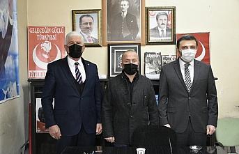 AK Parti ve MHP Gümüşhane il başkanlarından BBP'ye ziyaret