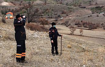 Amasya'da bir ay önce kaybolan kişiyi arama çalışmaları sürüyor