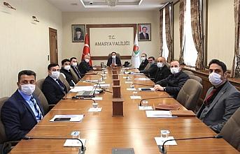 Amasya'da faaliyet gösteren OSB'lerin Müteşebbis Heyeti Toplantısı yapıldı