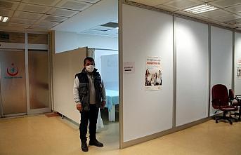 Amasya'da  Kovid-19 aşı noktaları hazırlandı