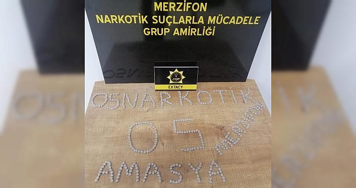 Amasya'da uyuşturucu operasyonunda 3 kişi yakalandı