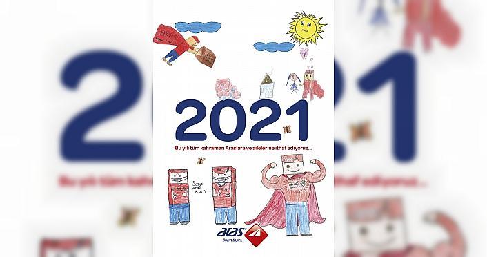 Aras Kargo, 2021 takviminde çalışanlarının çocuklarının...