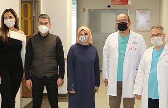 BAH Sağlık çalışanları Covid 19 aşısı oldu