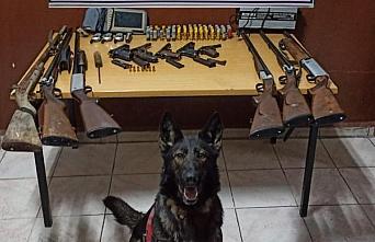 Bolu'da, tabanca, av tüfeği, el telsizi ve yer altı...