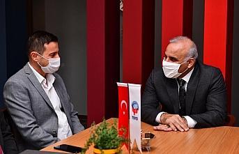 Büyükşehir Belediye Başkanı Zorluoğlu'ndan TSYD...