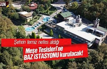 Canik Belediyesi, Meşe Tesisleri'ne baz istasyonu...