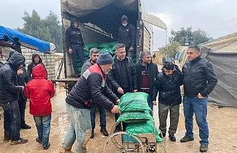 Çankırı ve Çorum'da İHH'dan İdlib'e yardım