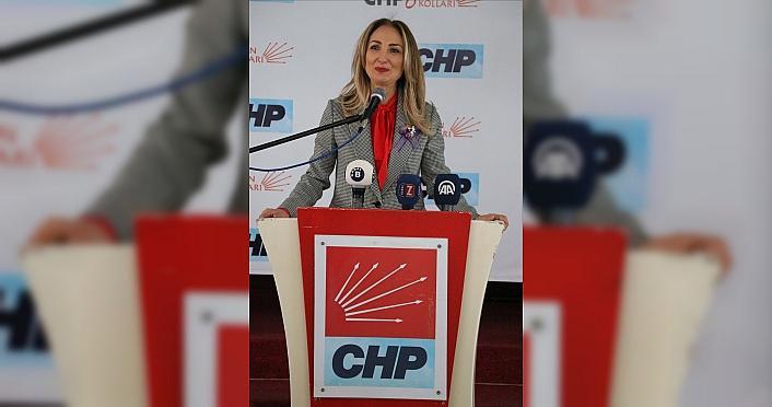 CHP Kadın Kolları Genel Başkanı Nazlıaka, Zonguldak'ta...